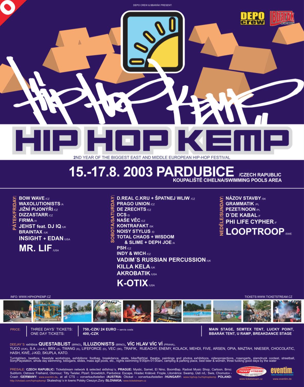 Hip Hop Kemp 2003