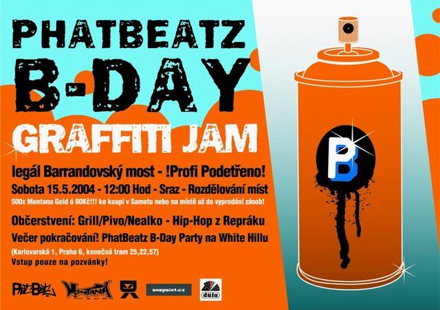 PHATBEATZ B-DAY GRAFFITI JAM 2004