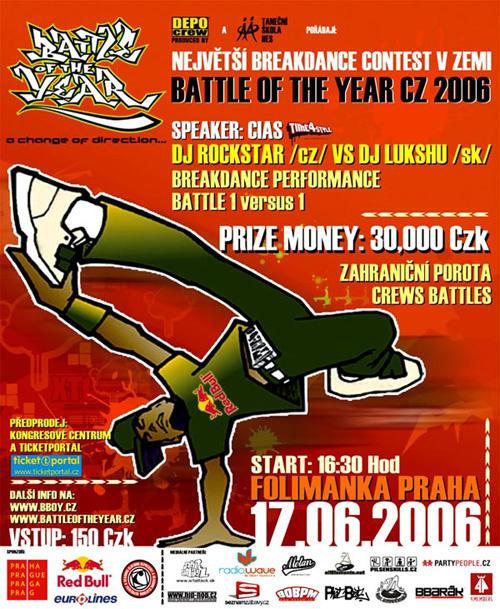BATTLE OF THE YEAR CZECH REPUBLIC 2006