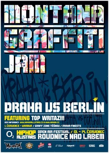 Montana Graffiti Jam 2007 - Těšnov