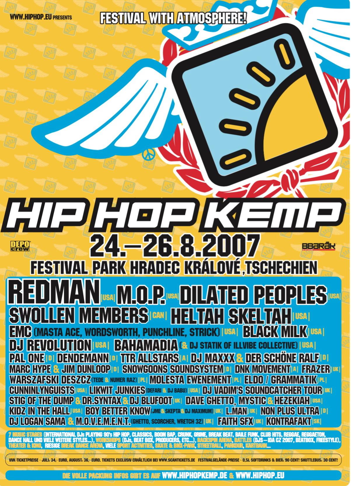 Hip Hop Kemp 2007