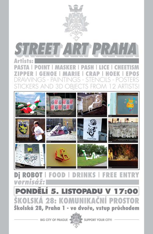 STREET ART PRAHA