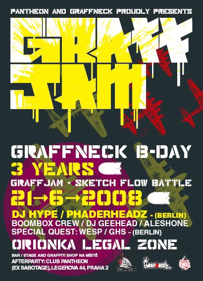 GraffNeck B-Day Jam