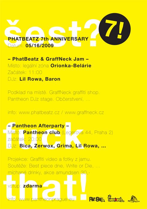 PHATBEATZ 7th ANNIVERSARY