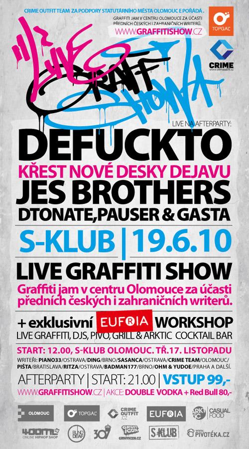 LIVE GRAFFITI SHOW - Olomouc