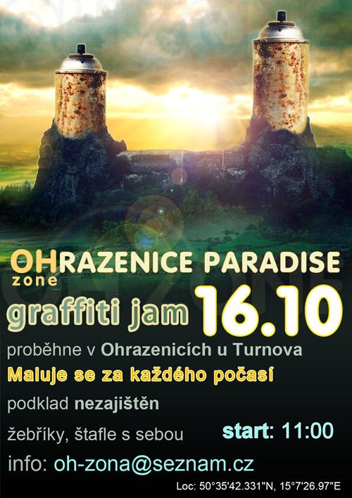 OHRAZENICE PARADISE