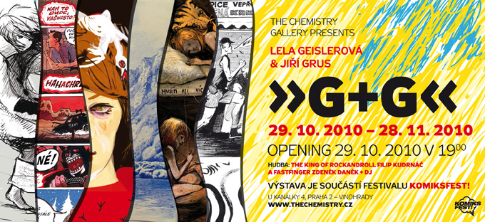 KomiksFEST! 2010 / G+G: Jiří Grus a Lela Geislerová