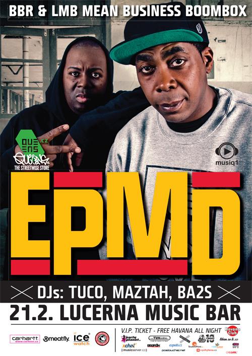 EPMD - Lucerna Music Bar, Praha