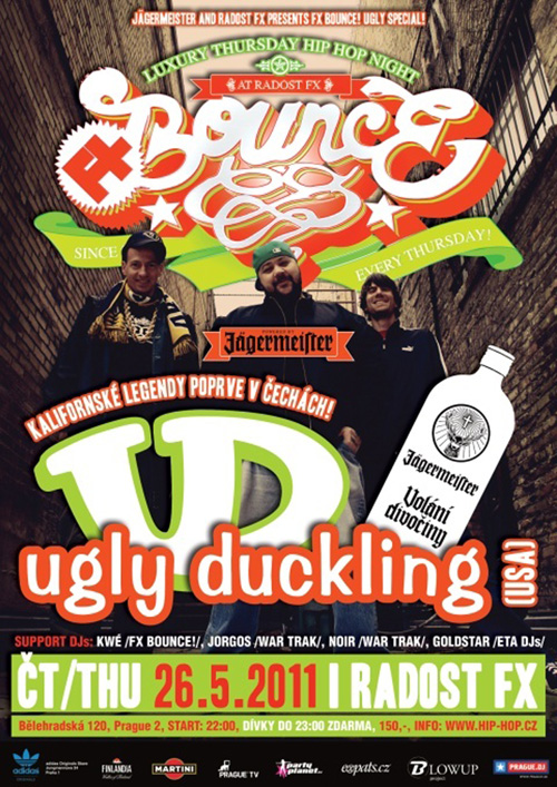 Ugly Duckling - Radost FX, Praha