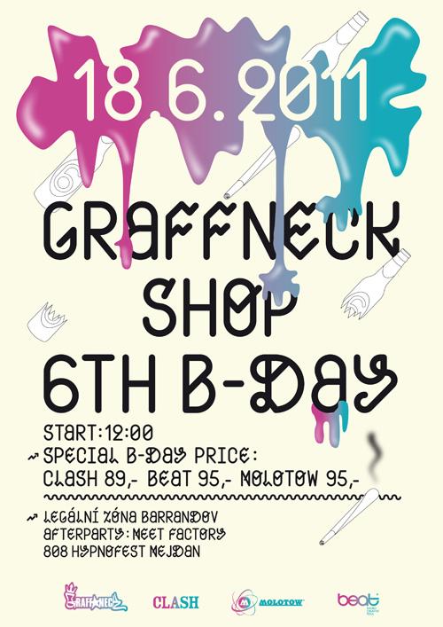 6. Graffneck B-Day Jam 2011