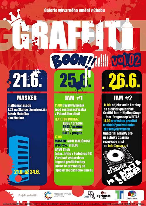 Graffiti Boom 2011 - Cheb