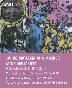 Graffiti Boom 2011 - Cheb - Jakub Matuška aka Masker; Moje maličkost