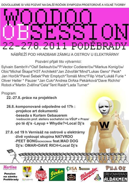 WOODOO SESSION 2011 - Poděbrady