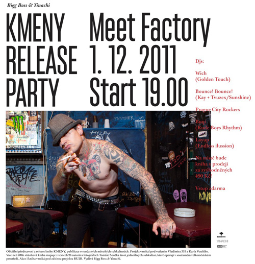 KMENY RELEASE PARTY
