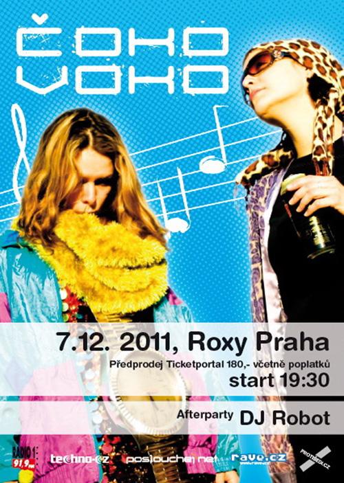 ČOKOVOKO - Roxy (7.12.2011)