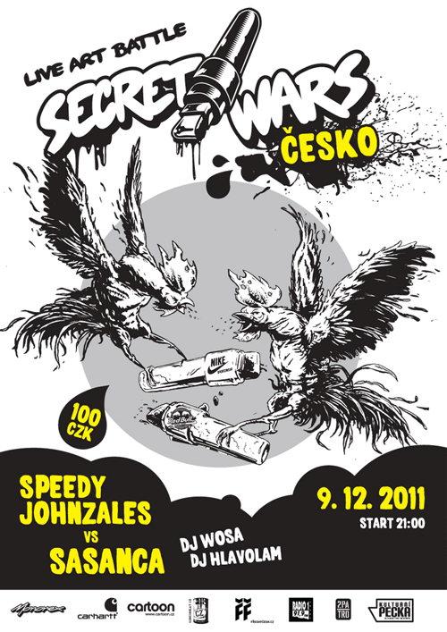 SECRET WARS ČESKO: Sasanca vs Speedy Johnzales