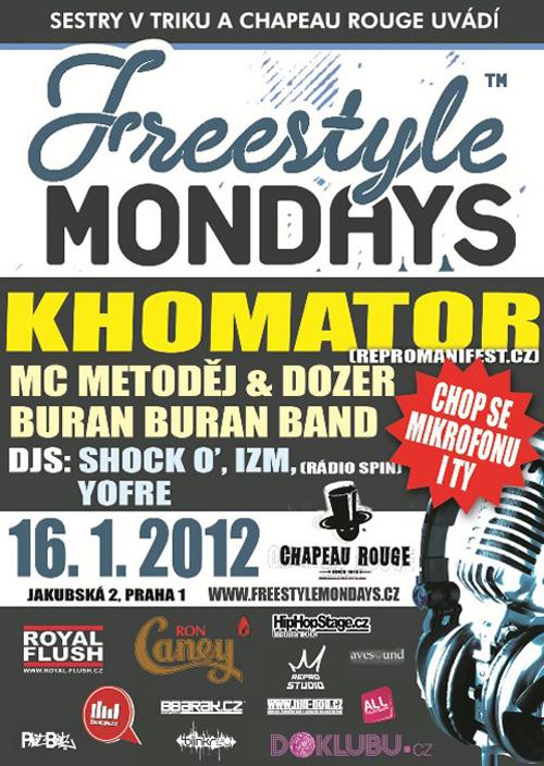 FREESTYLE MONDAYS! - Khomator
