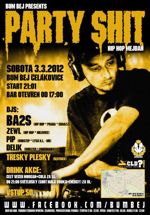 PARTY SHIT JAM - Čelákovice (3.3.2012)