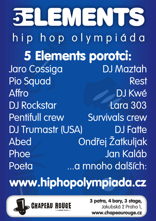 5ELEMENTS - Hip Hop Olympiáda