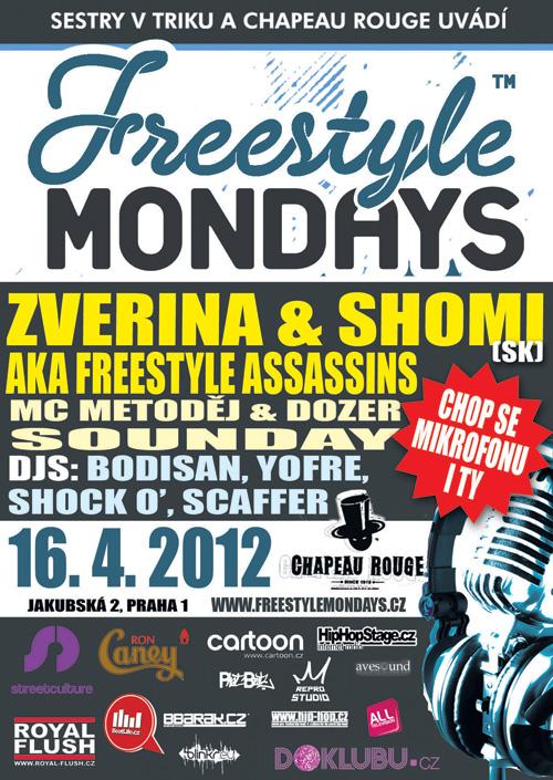 FREESTYLE MONDAYS! Zverina & Shomi (SK)