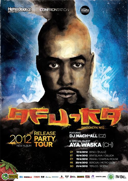 Afu-Ra Tour 2012