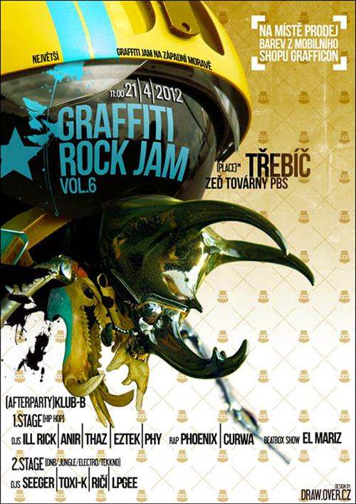 GRAFFITI ROCK JAM 2012 - Třebíč