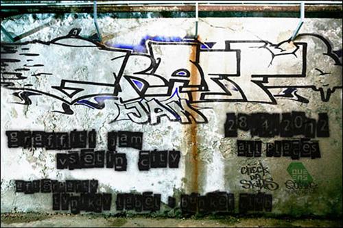 GRAFFITI JAM - Vsetín (28.4.2012)