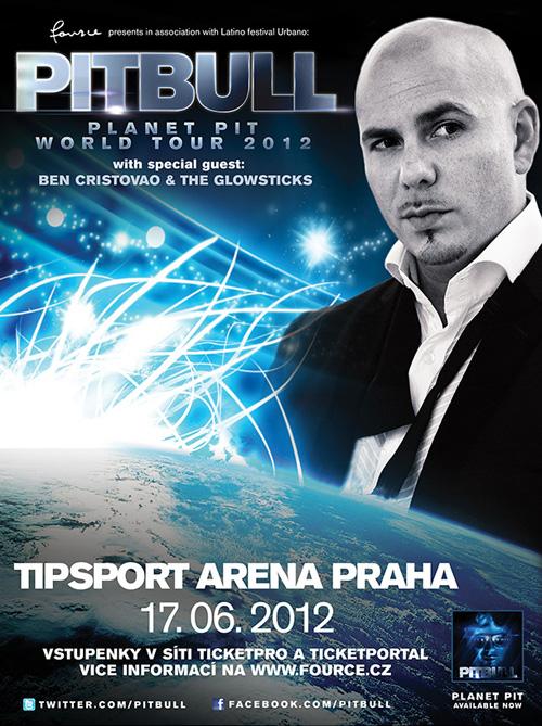 Pitbull (USA/CUB) - Tipsport Arena, Praha