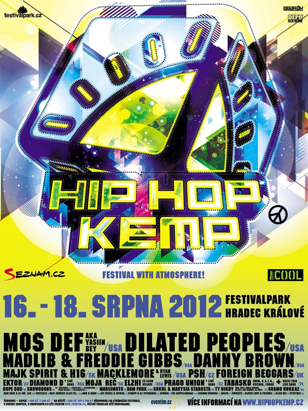 HIP HOP KEMP 2012 - Festival Park, Hradec Králové
