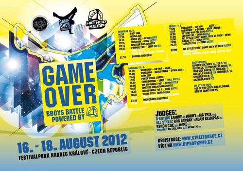 HIP HOP KEMP 2012 - GAME OVER - Festival Park, Hradec Králové