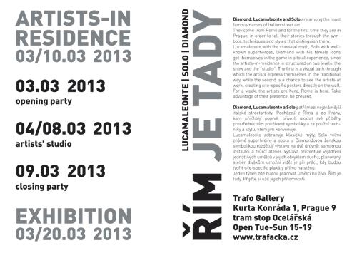 Řím je tady - Trafo Gallery, Praha