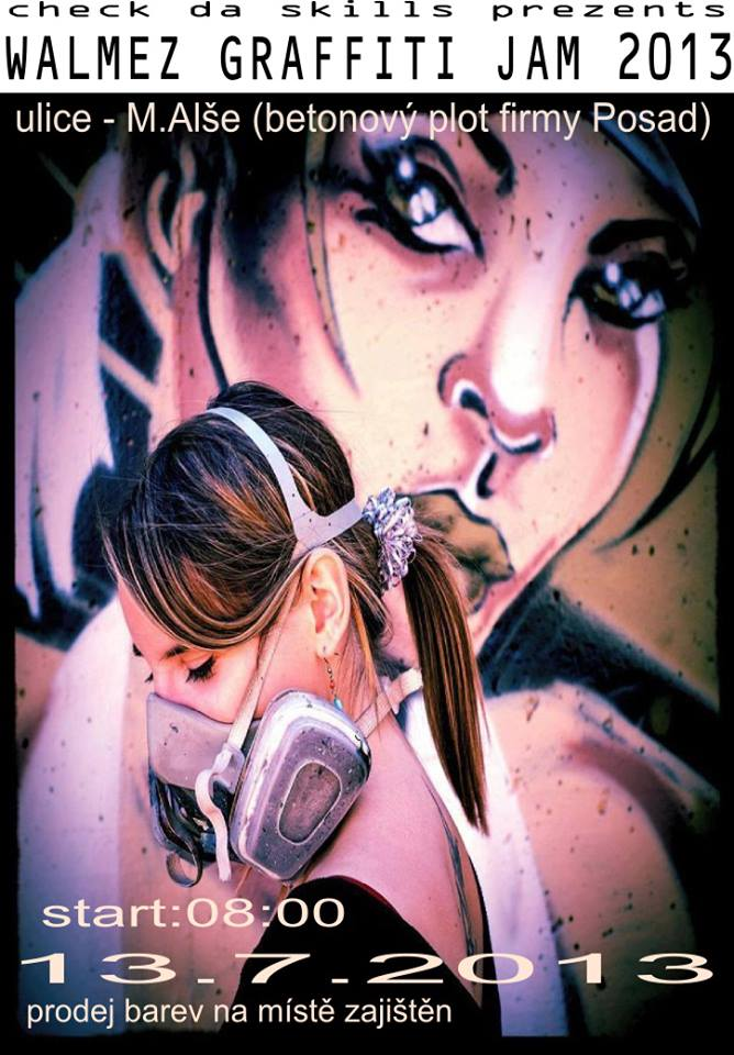 WALMEZ GRAFFITI JAM 2013