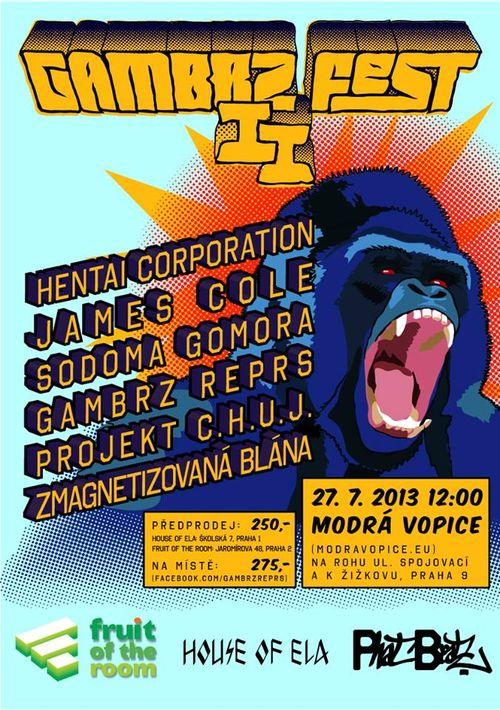 27.7. // GAMBRZ FEST 2013