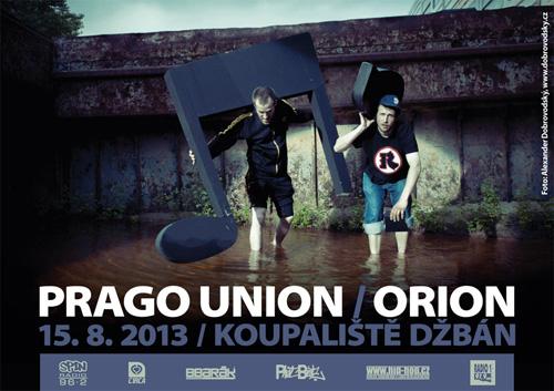 DŽBÁN 2013 - Prago Union & Orion