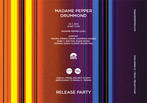 MADAME PEPPER DRUMMOND RELEASE PARTY