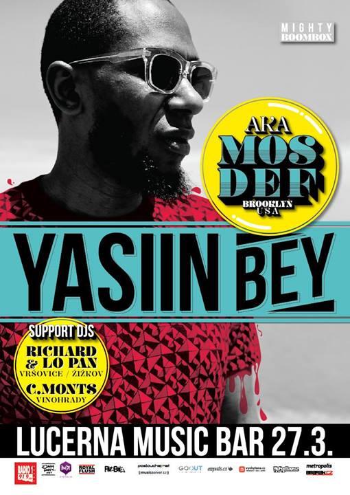 Yasiin Bey aka Mos Def (USA) - Prague