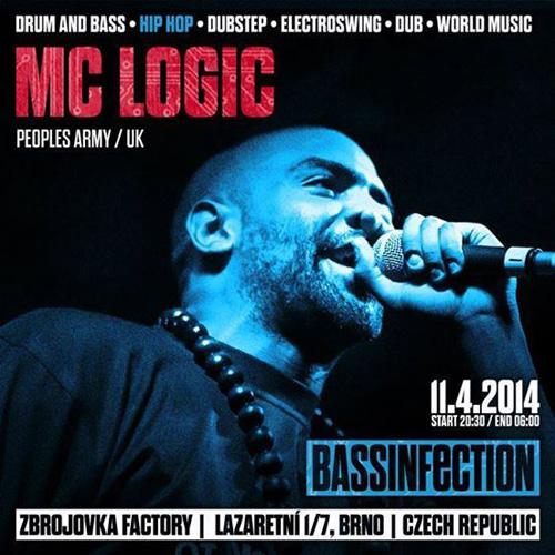 MC Logic - Bassinfection 2014