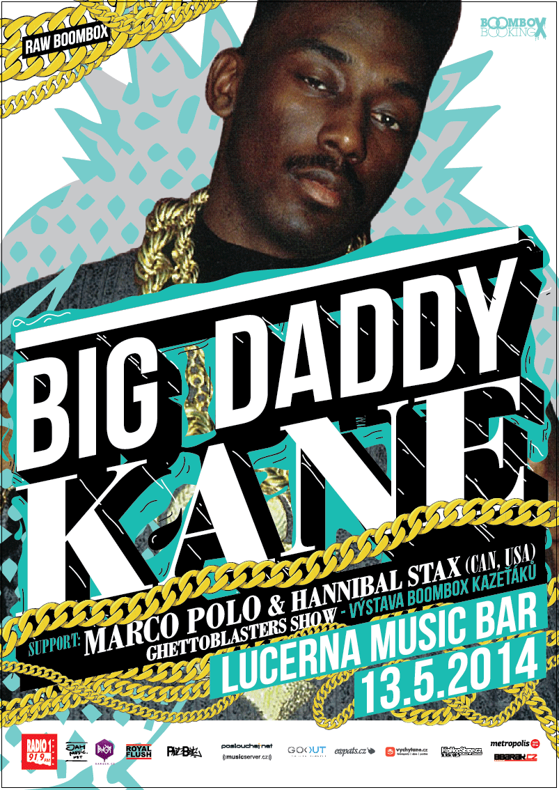 13.5.2014 // RAW BOOMBOX: Big Daddy Kane