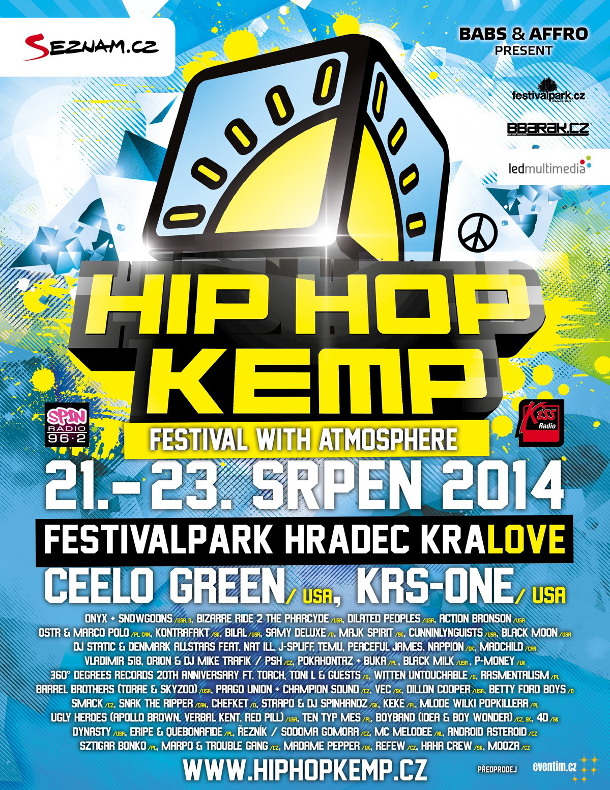 HIP HOP KEMP 2014 - The Year of the Cube