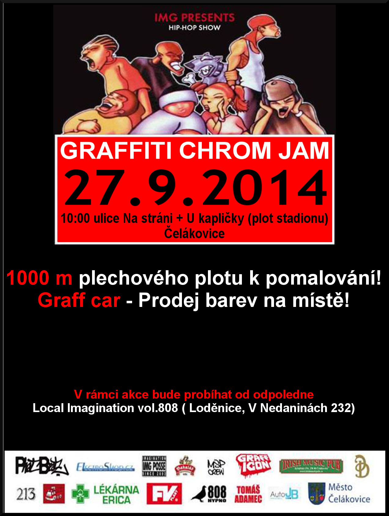 GRAFFITI CHROM JAM 2014