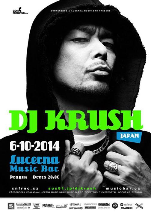 DJ Krush - Lucerna Music Bar