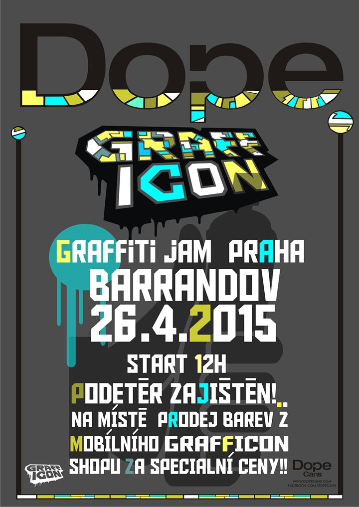 Dope Graffiti Jam 2015 - Barrandov