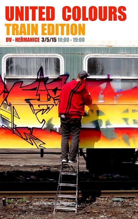 United Colours Jam 2015 - train edition