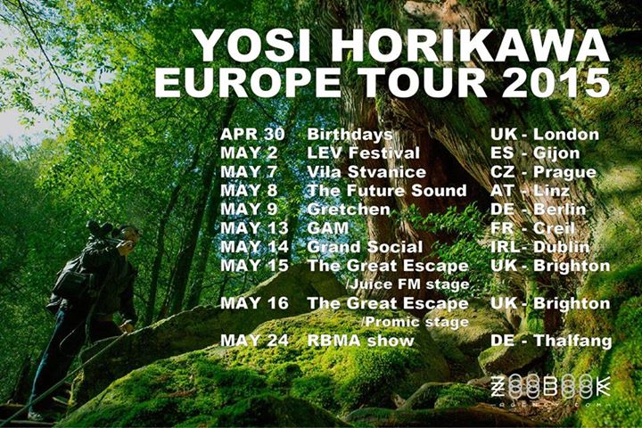 Yosi Horikawa Tour 2015