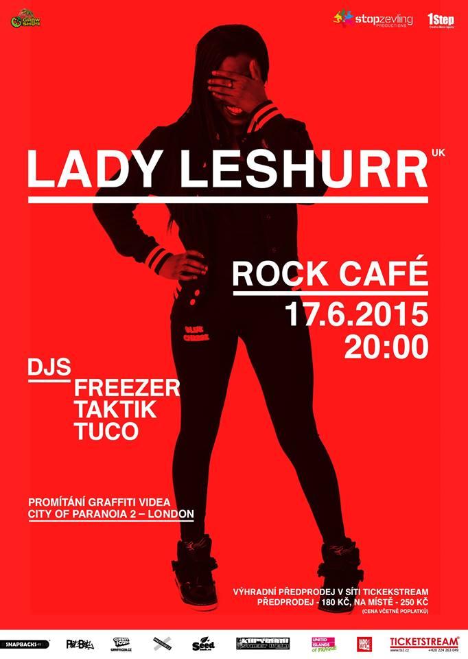 LADY LESHURR 2015 - Rock Café