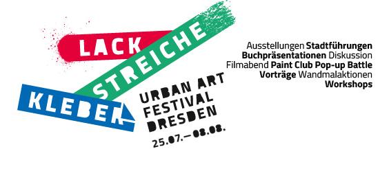 Lack Streiche Kleber 2015 - Dresden