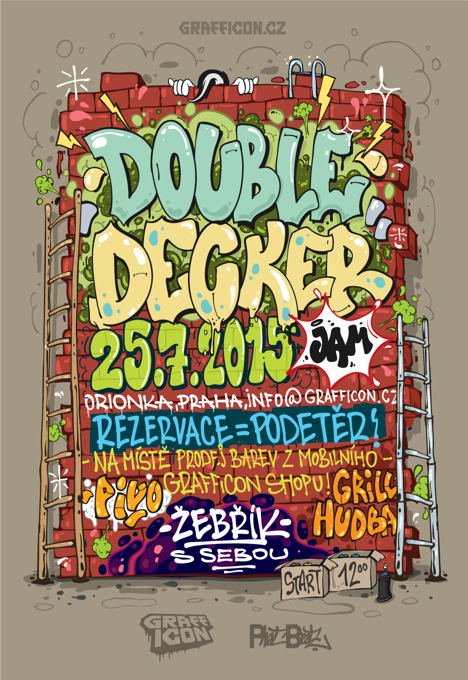 DOUBLE DECKER JAM 2015 by SKUNK