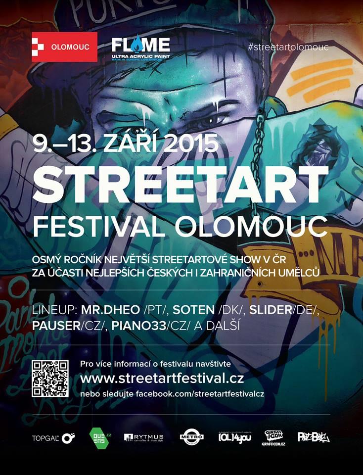 STREETART FESTIVAL OLOMOUC 2015