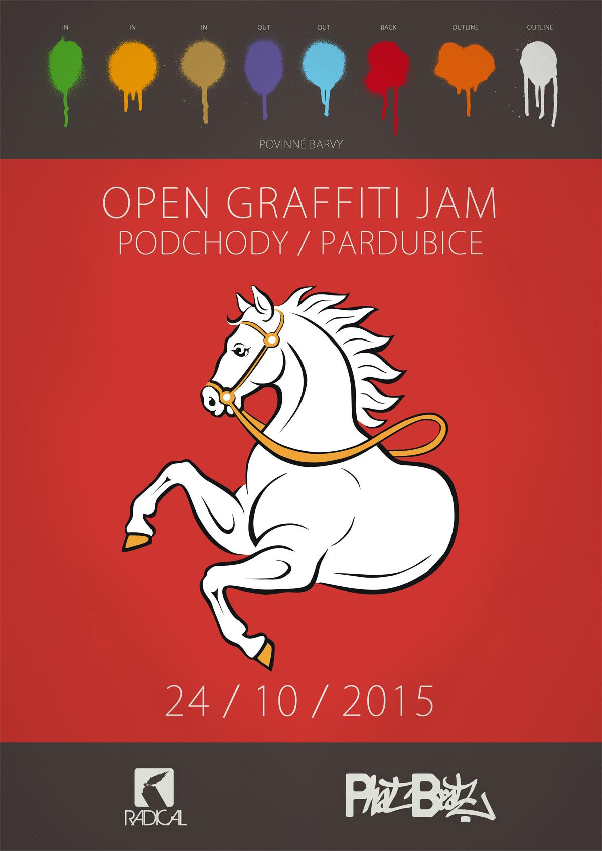 OPEN GRAFFITI JAM - Pardubice