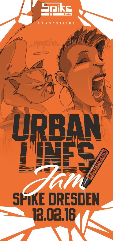URBAN LINES Jam 2016 - Dresden